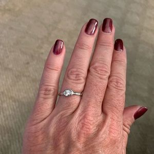 Belle Fleur oval ring